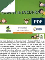 Escala de Valoracion EVCDI-R 2017
