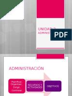Unidad 2 Administración
