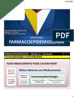 01 - Introdução a Farmacoepidemiologia