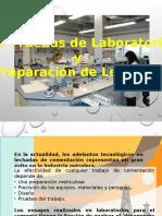 4.2 Pruebas de Lab. y Preparacion de Lechada