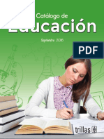 Catalogo Educa c i on Sept 2016