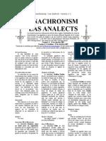 Analects v1.1 Castellano