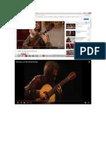 Perspectivas de Grabacion Para Videos de Guitarra