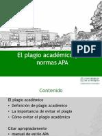 1. El Plagio Académico y Las Normas APA