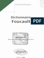 Judith Revel-Dictionnaire Foucault-Ellipses Marketing