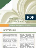 Presentación Sobre La Información