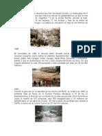 Desastres de Guatemala