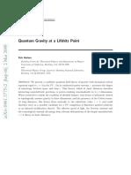 Peter Horava - Quantum gravity at a Lifshitz point.pdf