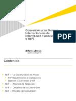 Conversion a Ifrs e&f Fg