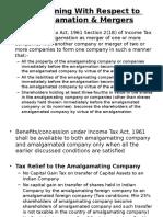 Tax Planning Merger