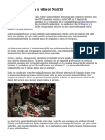 Empresas Limpieza la villa de Madrid