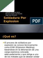 Soldadura Por Explosion