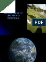 DISASTER Management 1