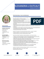 alexandra outcalt educator resume