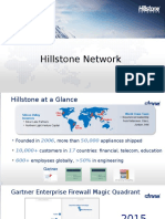 Introduction Hillstone