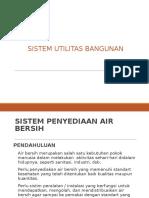 Sistem Utilitas Bangunan