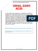 Tutorial Sony Acid Pro (Para Remixes)