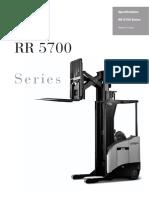 Crown Rr5700 Specs