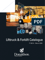 DONALDSON F116014 Lifttruck & Forklift Catalogue
