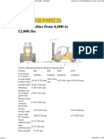 Sellick Equipment Limited_ S Series Rough Terrain Forklift - Standard Features