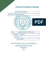 Cover Laporan Resmi Praktikum Biologi
