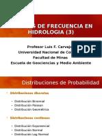 Distribuciones de Probabilidad - Hidrologav03