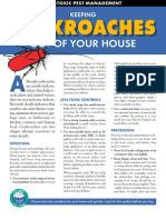 Cockroaches OUT OF YOUR HOUSE - Less Toxic Pest Management