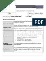 Carta Examen DX Dental