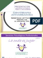 Presentacion Institucional Ludoterapia Autocreadora AC 2017