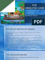 The Unselfish Gene