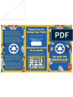 Multifamily Recycling - Recycling Brochure