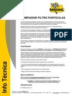 Limpiador Filtro Particulas Ft