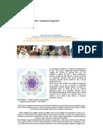 Geometría Sustentable Pentaflor,Flor de La Vida
