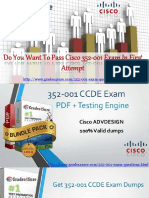 Get Real Exam Question And Answers For Cisco 352-001