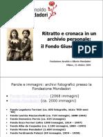 Bottai Perondi-Fondazione Mondadori