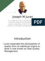 Joseph Juran -Quality Guru