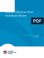 BPB Accreditation Scheme