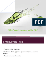 Nike's Adventure With Supply Chain Planning Software