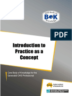 37 Introduction to Practice as a Concept