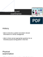History Taking and Examination Technique in Obstetrics (1)