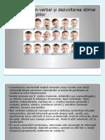 Limbajul non-verbal si dezvoltarea stimei de sine a  copiilor