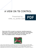 A View on Tb Control