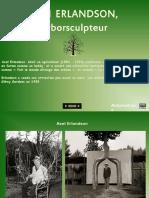 Axel ERLANDSON Arborsculpteur - Gr12.10