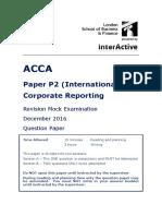 P2 Mock Questions