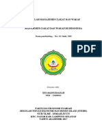 Manajemen Zakat Dan Wakaf Di Indonesia