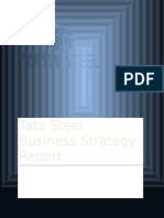 Tata Steel Business Strategy Report