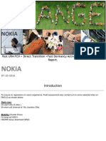Post URA PCH + Direct Transition +Fast Dormancy Activation Field assessment Report