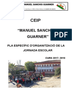 Projecte Jornada Flexible 2017