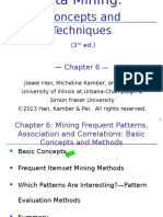 Chapter 6. Mining Frequent Patterns, Associations and Correlations - Basic Concepts and Methods