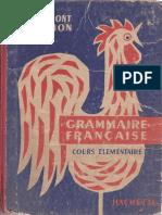 Grammont Hamon Ce Grammaire Francaise